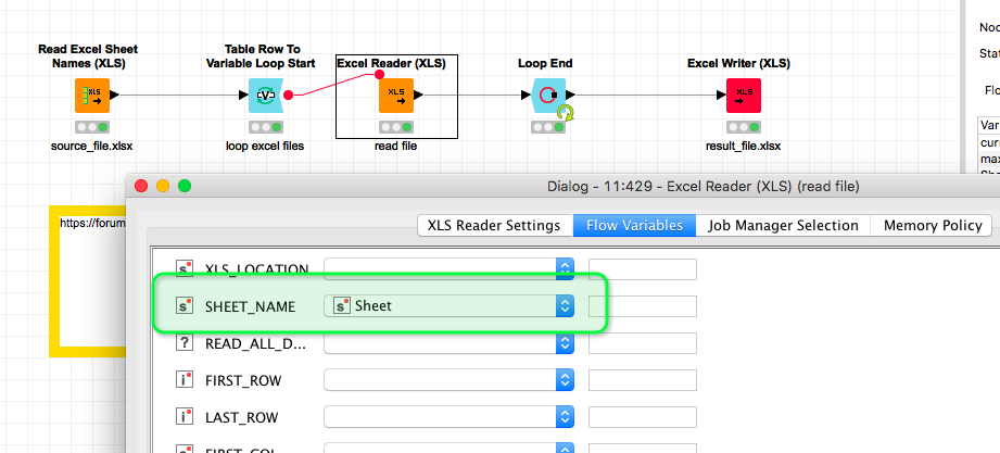 How To Consolidate Data From Multiple Sheets Into One Knime